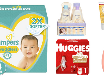 Amazon | Save $20 when you spend $100 On Select Baby Products