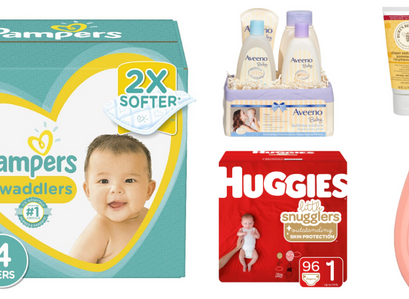 Amazon   Save $20 when you spend $100 On Select Baby Products