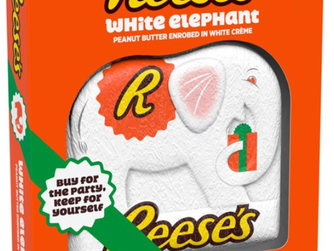 Reese's Holiday White Creme Peanut Butter Elephant Candy
