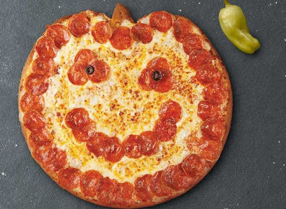 Papa John's Has A Jack-O'-Lantern Pizza Just In Time For Halloween