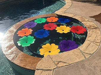 Solar Pool Flowers   Heat Up Your Pool By Absorbing Sunlight
