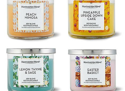 ALDI Spring 3-Wick Candles (In-Store)
