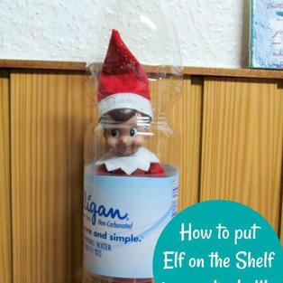 Water Bottle Trick | Elf On The Shelf