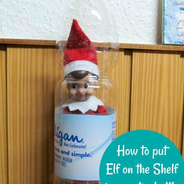 Water Bottle Trick | Elf On The Shelf