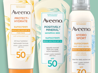Printable Coupon   $3 Off  (1) Aveeno Sun Products
