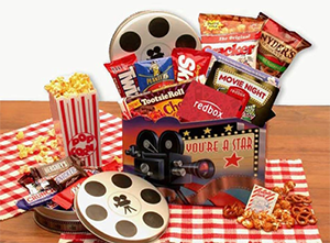 Just Free Stuff | Enter To Win A Free Movie Night Gift Basket