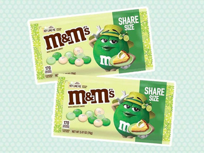 Key Lime Pie M&M's Are Coming This Easter