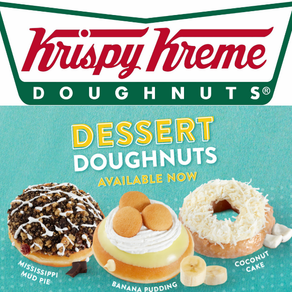 Krispy Kreme   New Dessert Donuts Are Here!