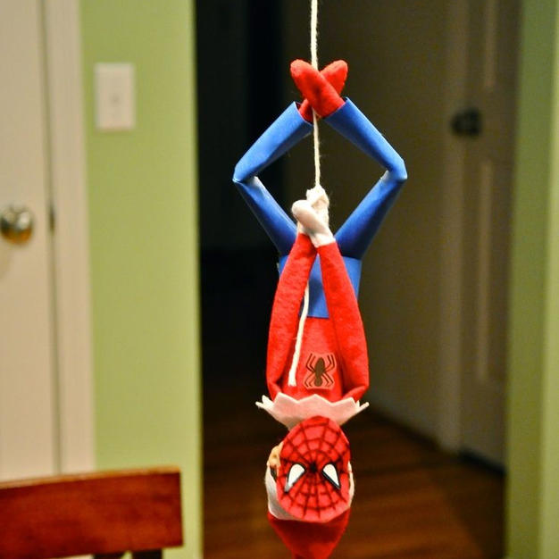 Spider-Man | Elf On The Shelf