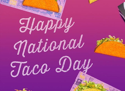 Celebrate National Taco Day, October 4, 2020 With These Deals!