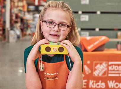 Free Home Depot Kids Workshop Sat, Mar 7, 2020