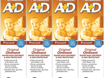 A+D Original Diaper Ointment (Pack of 4)