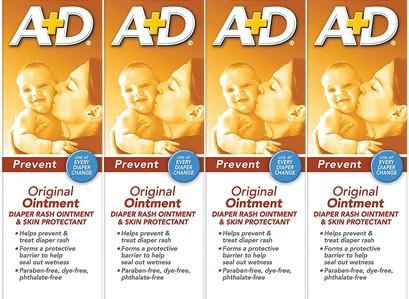 A+D Original Diaper Ointment (Pack of 4)