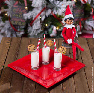 Mini Milk and Cookies | Elf On The Shelf