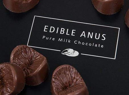 Edible Anus Milk Belgian Chocolate Gift Set For Valentine's Day