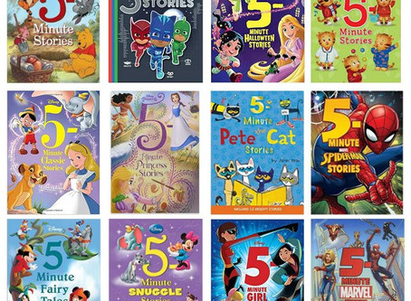 Amazon | Kids Books | 5-Minute Stories Buy 2 Get 1 Free Offer
