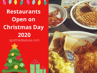 Restaurants Open on Christmas Day 2020