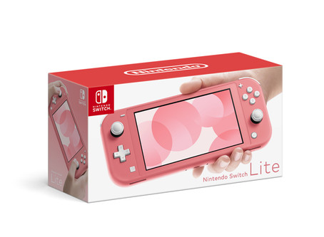 Nintendo Switch Lite Console, Coral - PreOrder Available Now!