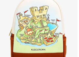 Loungefly Disney The Emperor's New Groove Kuzcotopia Mini Backpack - BoxLunch Exclusive