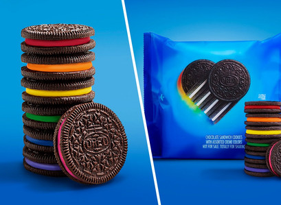 Oreo releases cookies with rainbow-colored creme filling in support of LGBTQ+ community