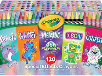 Amazon   Crayola 120 Crayons Coloring Set