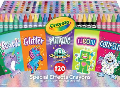Amazon | Crayola 120 Crayons Coloring Set