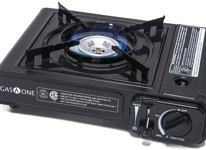 Amazon | Portable Camping Butane Gas Stove Automatic Ignition with Carrying Case