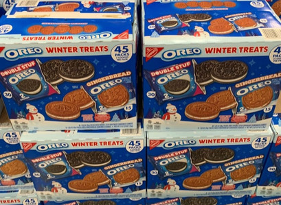 Oreo Winter Treats w/ Gingerbread Cookies 45-Count