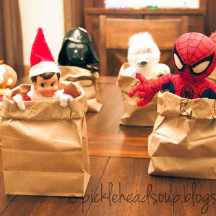 Sack Race | Elf On The Shelf