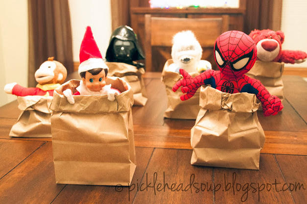 Sack Race | Elf On The Shelf
