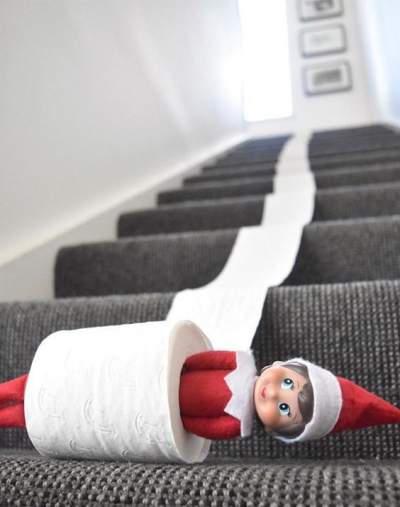 TP Rollin' | Elf On The Shelf