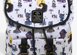 Loungefly Disney The Nightmare Before Christmas Halloween Town Rucksack - BoxLunch Exclusive