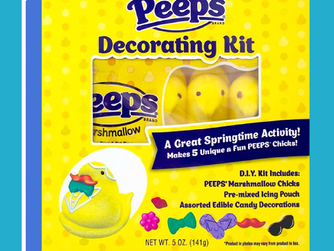 New Peeps Candy Decorating Kit For Easter