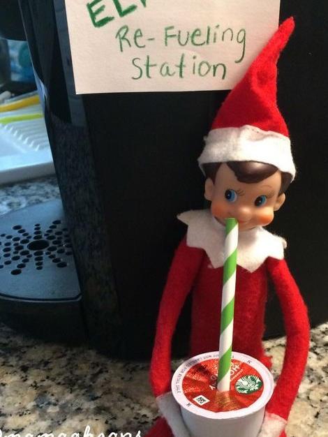 Refueling Station | Elf On The Shelf