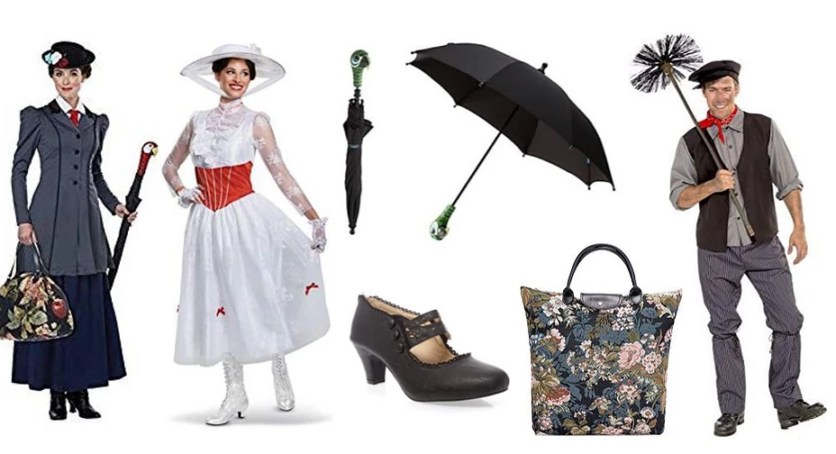 Disney Inspired Mary Poppins Clothing and Accessoires