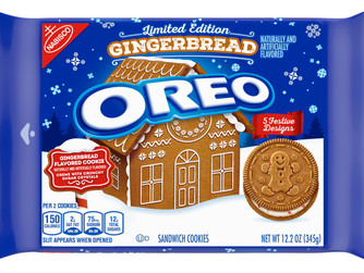 Oreo Gingerbread Limited Edition Cookies This Season