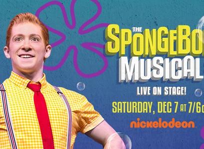 The SpongeBob Musical Live On Stage On December 7 on Nickelodeon #SpongeBobMusicalLive