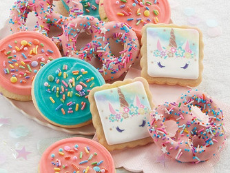 Cheryl's Cookies - Have a Magical Day Pretzels and Buttercream Frosted Cookies