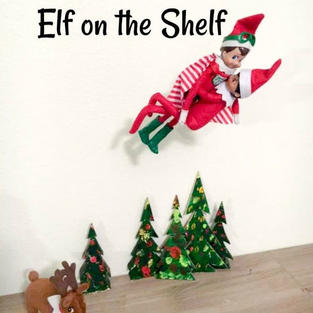 Flying Trick | Elf On The Shelf
