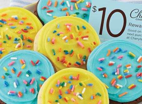 Cheryl's Cookies Birthday Sampler + FREE $10 Reward Only $9.99 Shipped