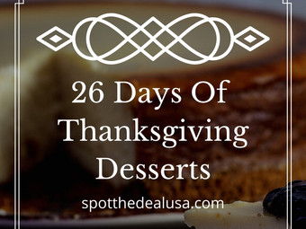 26 Days Of Thanksgiving Desserts