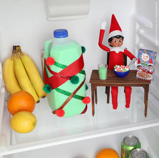 Breakfast For Champions | Elf On The Shelf