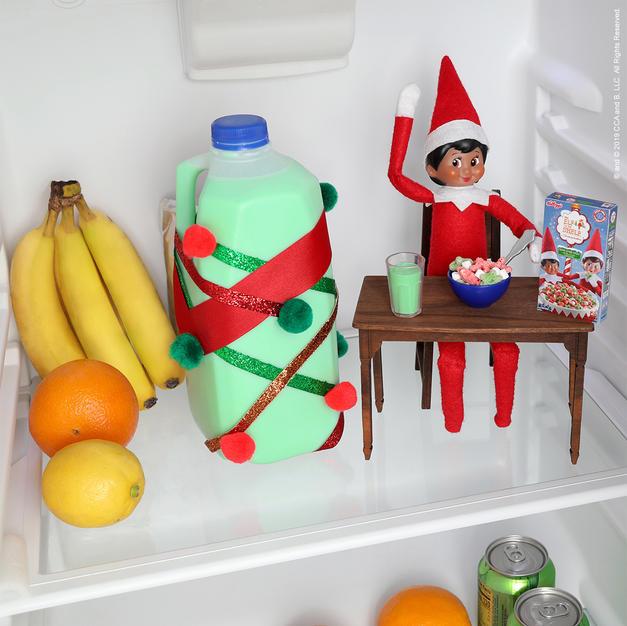 Breakfast For Champions | Elf On The Shelf