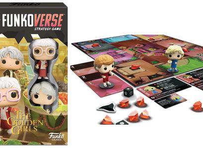 Funkoverse Golden Girls Board Game