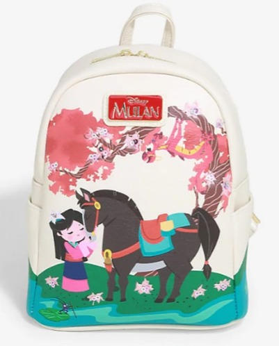 Disney Mulan Cherry Blossom Loungefly Backpack - Boxlunch Exclusive