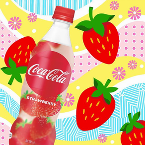 FYE   Coca-Cola Strawberry Now Available In The US