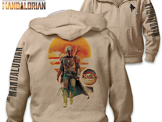 Star Wars The Mandalorian Hoodie - Adult Size