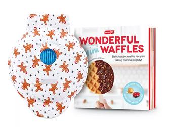 Kohl's | Dash Wonderful Mini Waffle Maker Christmas Gift Set