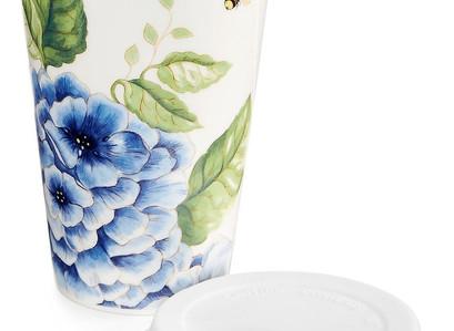 Macy's | Lenox Butterfly Meadow Thermal Travel Mug