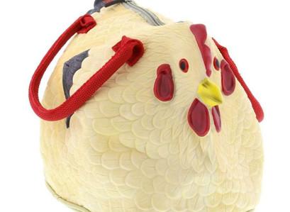 People Are Obsessed With This Rubber Chicken Purse On Amazon